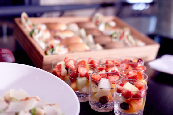 Events meeting food finger food lunch 560x373