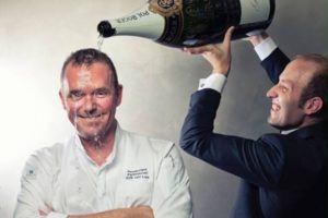 Erik van Loo organiseert Big Bottle Party met sterrenchefs