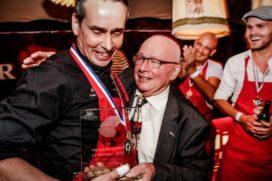 Peter Oreel kampioen oestersteken