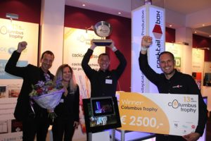 Christoph Poos wint Columbus Trophy