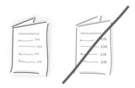 Menukaart: drie praktische tips voor meer omzet