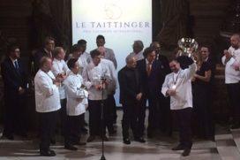 Keng Vichianrat naast podium Prix Taittinger