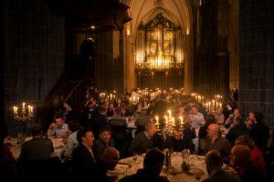 Martinikerk opnieuw decor groots Bierdiner