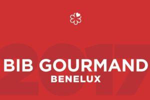 Nieuwe Bib Gourmands 2017