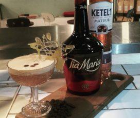 In the mix: Steamed Espresso Martini