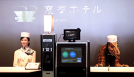 Robothotel Henn-na in Japan: 'Gasten missen toch de menselijke interactie'