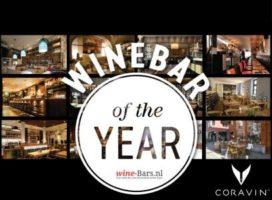 Honderd wine bars strijden om'Wine bar of the Year 2016'