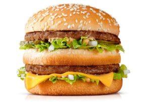 Hamburgers vanMcDonald'szijn vaak duurder in franchisevestigingen dan in eigen restaurants van de hamburgerketen.