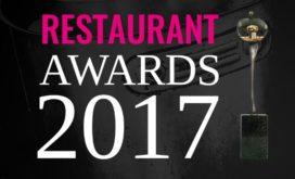 Kanshebbers voor Restaurant Awards 2017