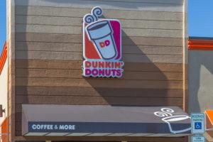 Dunkin' Donuts in 2017 terug in Nederland