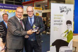 Wine in Moderation award voor Petro Kools van Da Vinci**