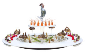 Foto's Bocuse d'Or: gerechten en keuken