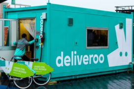 Deliveroo introduceert locatiekeukens