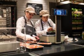 Restaurant en café in grotere Albert Heijn supermarkten