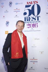 Richard Ekkebus: 4e bij Asia's 50 Best Restaurants, beste van China, 20e van de wereld.