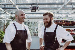 Chefs Timmer en De Beer verruilen Rijks voor De Kas
