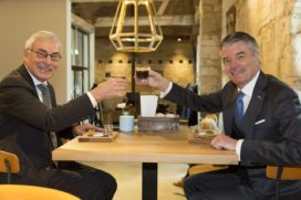 Burgemeester Quicx Coffee & More in kasteelhoeve Château St. Gerlach