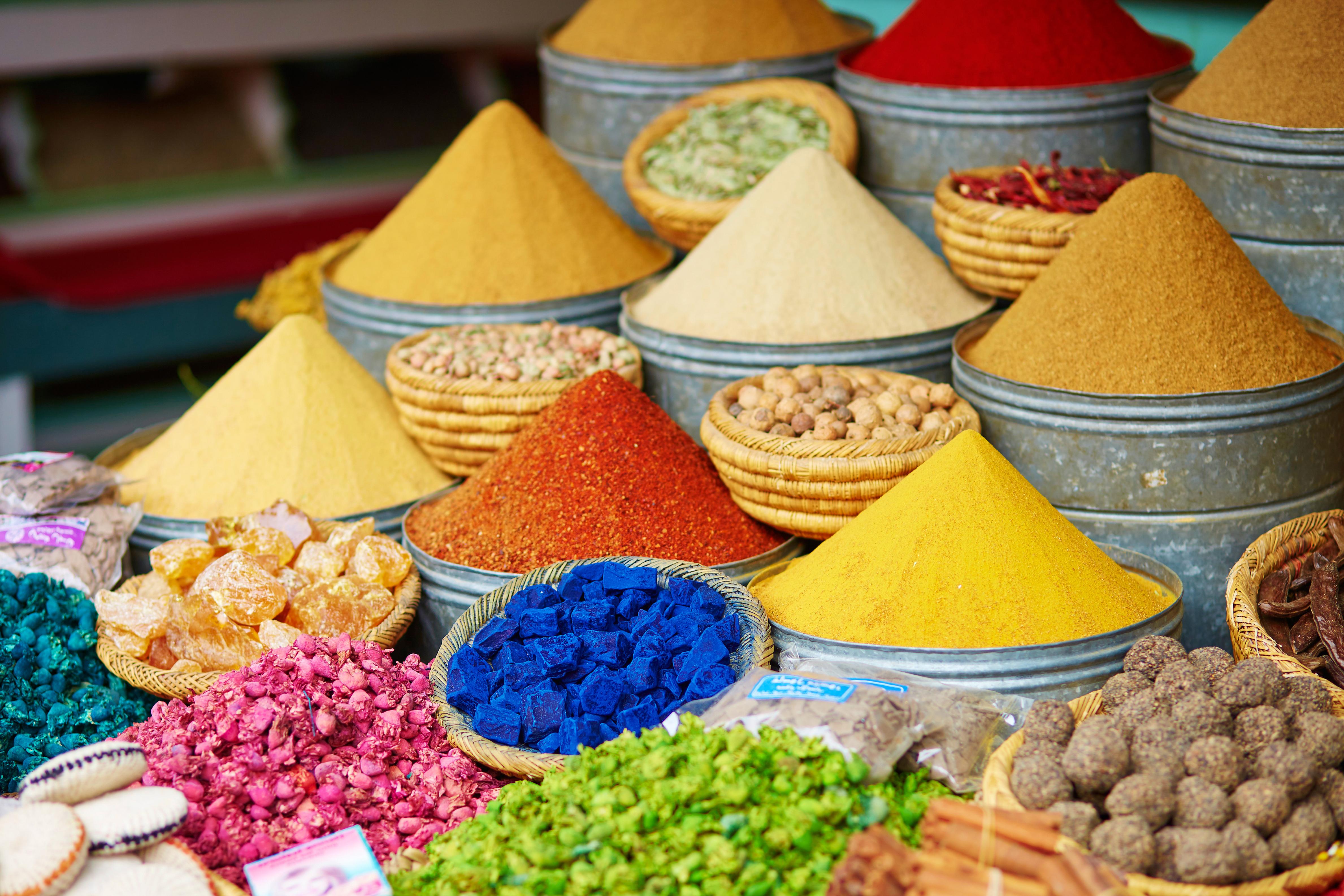 Goede rode wijn is als een wandeling over een Marokkaanse markt