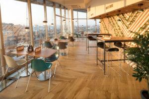 Horecainterieur: make-over voor restaurant Blue Amsterdam