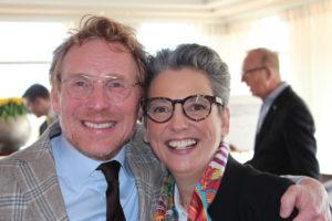 Roland Peijnenburg en Margo Reuten