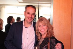 JRE voorzitter Rik jansma en echtgenoot Tabitha.
