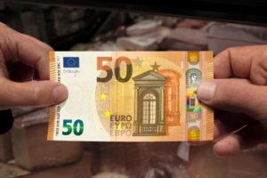 Nieuw biljet van vijftig euro in april 2017