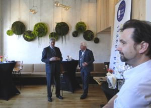 Restaurant 't Ambachthuys in Hillegersberg, Rotterdam, is lid geworden van Euro-Toques Nederland