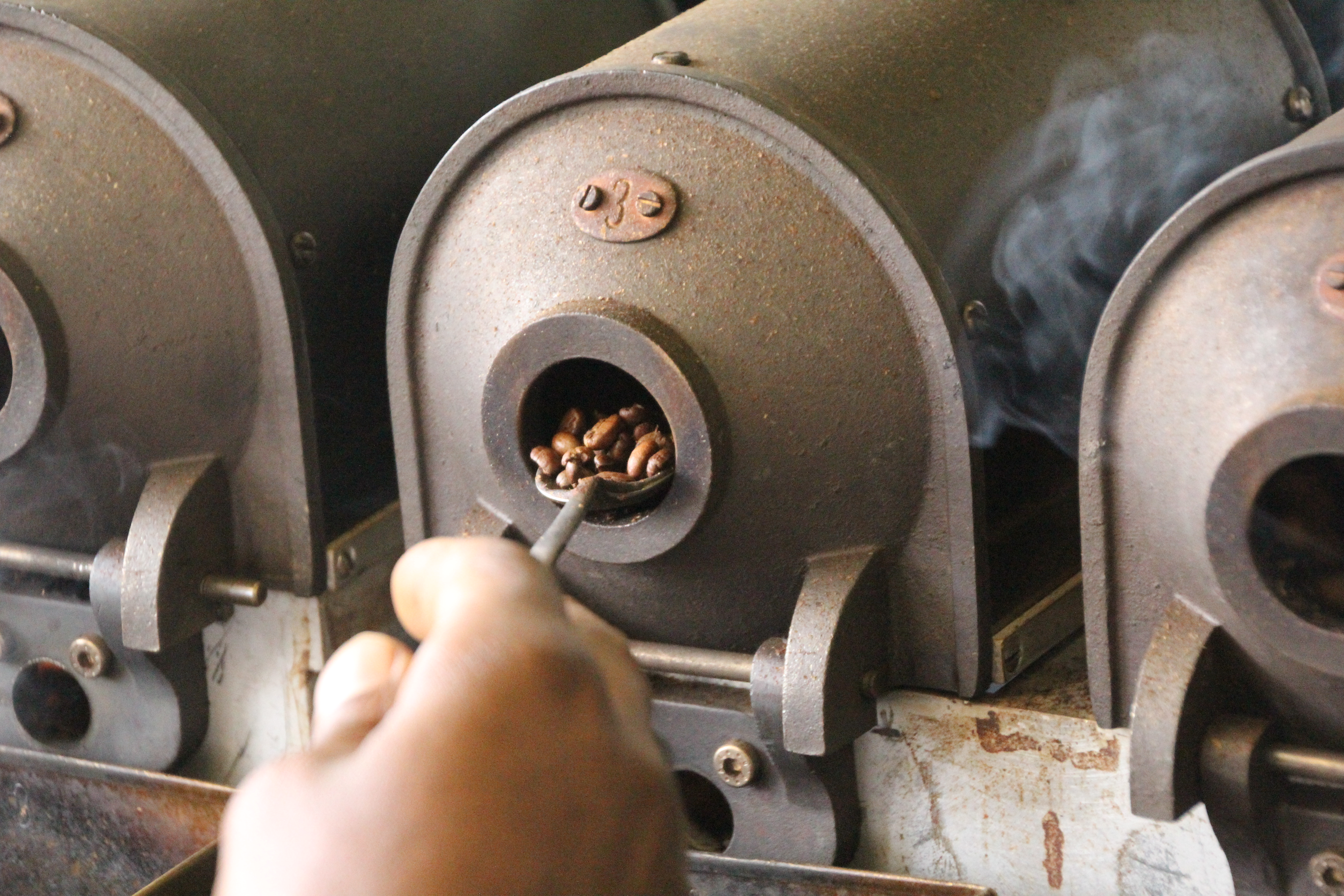 Neumann Kaffee Gruppe heeft een eigen kwaliteitslaboratorium