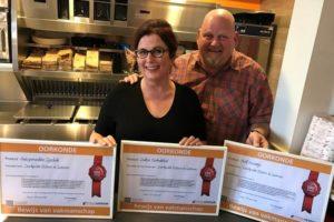 Roger Gielen, Snackpoint Susteren: drie keer goud