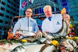 Rotterdam Marriott Hotel start Schmidt Fresh Fish Market