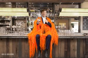 5 x oranje drankjes voor Koningsdag