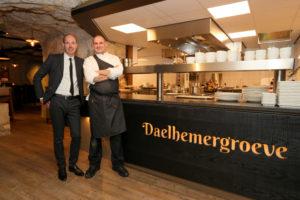 Valkenburg: Daelhemergroeve restaurant onder de grond
