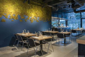 Horecainterieur: restaurant Moer in Amsterdam