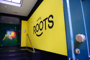 Horecainterieur: hostel Roots Tilburg