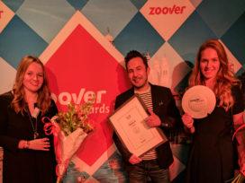 Zoover Award Hotelaanbieders voor Hotels.nl