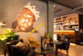 Horecainterieur Jackie Brown in Amersfoort: 'Street art met klasse'
