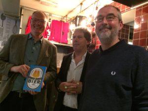 Dit is een boek over Bier Raymond van der Laan
