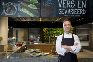 Karel van Tiel, executive chef-kok Albron, wil koken in de luwte