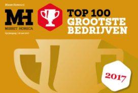 Ranglijst Horeca Top 100 2017: de grootste horecabedrijven van Nederland