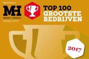 Ranglijst Horeca Top 100 2017: de grootste horecabedrijven van Nederland