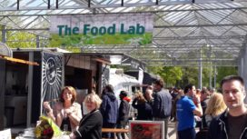 Foodtruckplein The Food Lab geopend op High Tech Campus