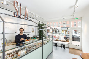 Restaurant Sla groeit als kool