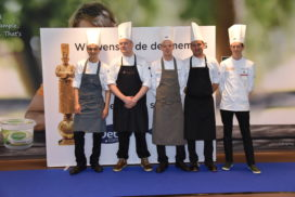 Vijf finalisten Bocuse d'Or Nederland 2017 bekend