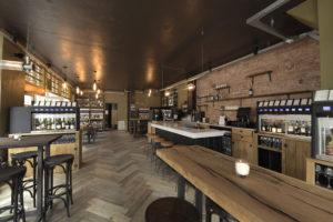 Horecainterieur: wijncafé Raleigh & Ramsay in Amsterdam