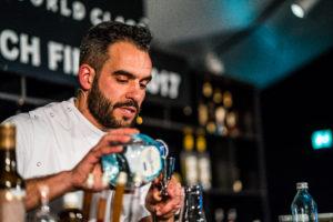 Alberto Matallana Diageo World Class Bartender