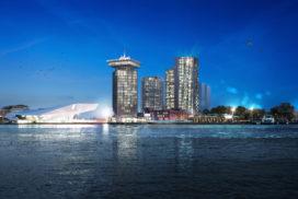 Bouw mega-hotel Maritim Amsterdam-Noord van start