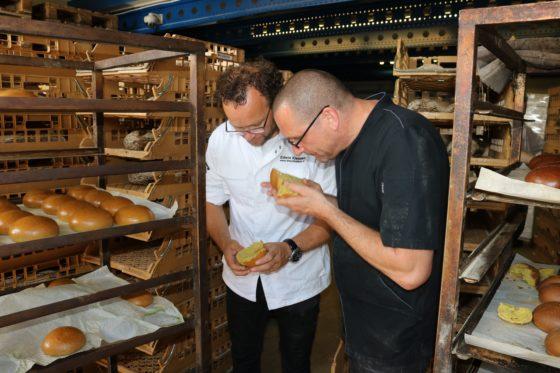 Bakker Edwin Klaasen (links) en Olaf Oldenburg van Ter Marsch. Fotografie: Martijn van Gorsel