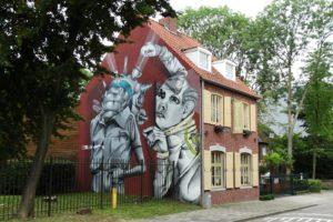 Graffitikunstenaars krijgen vrije hand in sterrestaurant Cucina del Mondo