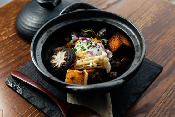 Mushroom Tobanyaki