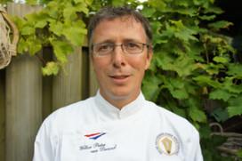 Koning neemt Meesterkok Willem-Pieter van Dreumel aan als chef-kok